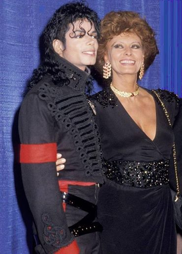 mj with sophia