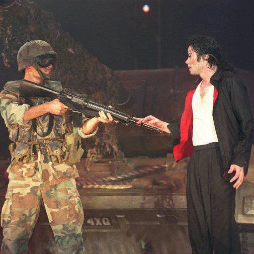 earth song performance