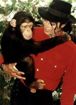 MICHAEL AND CHIMP